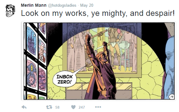 Merlin Mann Tweet