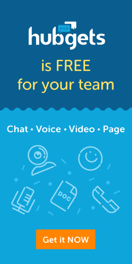 Hubgets is FREE for your team